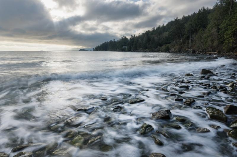 Ancia beach, Pender Island B.C.